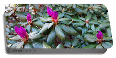 Pink Flowers, Bush Portable Battery Charger