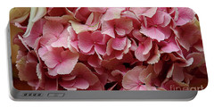 Pink Flowers Portable Battery Charger
