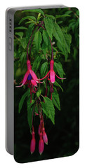 Portable Battery Charger featuring the photograph Pink Fushia by Tikvah's Hope