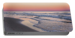 Pink Glow Seaside New Jersey 2017 Portable Battery Charger