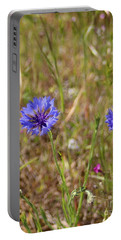 Portable Battery Charger featuring the photograph Pink In Between by Marie Neder