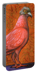 Pink Lady Portable Battery Charger by Leah Saulnier The Painting Maniac