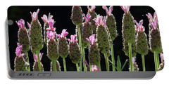 Pink Lavender Portable Battery Charger