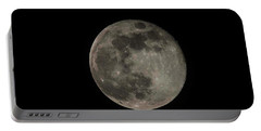 Portable Battery Charger featuring the photograph Pink Moon by David Bearden