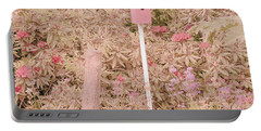 Portable Battery Charger featuring the photograph Pink Nesting Box by Bonnie Bruno