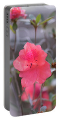 Pink Orange Flower Portable Battery Charger