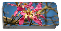 Portable Battery Charger featuring the photograph Pink Orchid Tree by Carla Parris