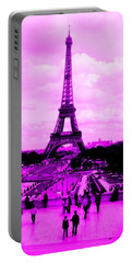 Pink Paris Portable Battery Charger