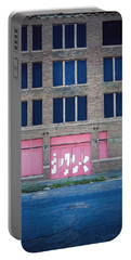 Portable Battery Charger featuring the photograph Pink Promises by Trish Mistric