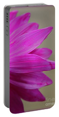 Pink Ray Florets Portable Battery Charger