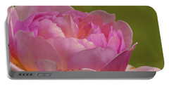Pink Rose #d3 Portable Battery Charger