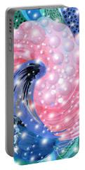 Pink Shell Fantasia Portable Battery Charger