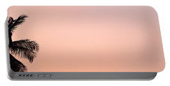 Pink Skies Portable Battery Charger