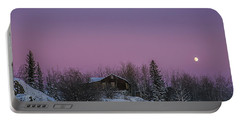 Pink Sky At Night Portable Battery Charger