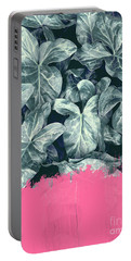 Pink Sorbet On Jungle Portable Battery Charger