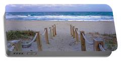 Pink Sunrise Beach Treasure Coast Florida C6 Portable Battery Charger