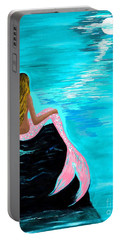 Pink Tail Portable Battery Charger