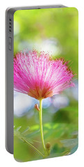 Portable Battery Charger featuring the photograph Pink Wisps Of Spring by Jessica Manelis