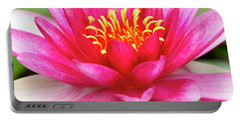 Portable Battery Charger featuring the photograph Pink Zen by John F Tsumas