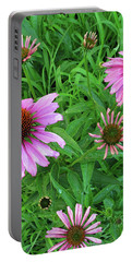 Pinks In Bloom Portable Battery Charger
