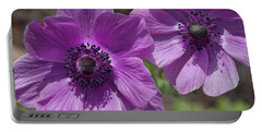 Pinky Purple Cosmos Portable Battery Charger