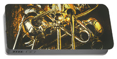 Pins Of Horror Fashion Portable Battery Charger by Jorgo Photography - Wall Art Gallery