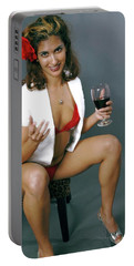 Pinup Babe Portable Battery Charger