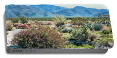 Pinyon Mtns Desert View Portable Battery Charger