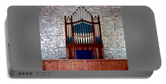 Pipe Organ Portable Battery Charger by Stephanie Moore
