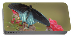 Pipevine Swallowtail Portable Battery Charger by Alan Lenk