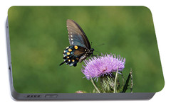 Portable Battery Charger featuring the photograph Pipevine Swallowtail by Sandy Keeton