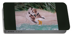 Piping Plover Chick 2 Portable Battery Charger