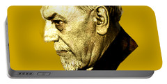 Portable Battery Charger featuring the digital art Pirandello by Asok Mukhopadhyay