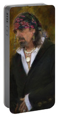 Pirate Portable Battery Charger by John Rivera