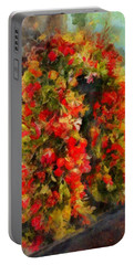 Pi's Flowers 2 Portable Battery Charger