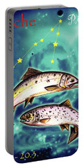 Pisces In The Sky Portable Battery Charger