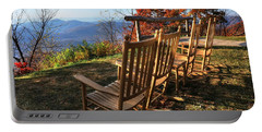 Pisgah Inn's Rocking Chairs Portable Battery Charger