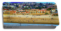 Portable Battery Charger featuring the photograph Pismo Hilltop Ocean View by Joseph Hollingsworth