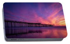 Portable Battery Charger featuring the photograph Pismo's Palette by Sean Foster