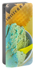 Pistachio Gelato Portable Battery Charger