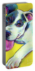 Pit Bull Puppy Portable Battery Charger