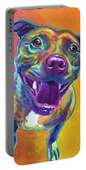 Pit Bull - Rainbow Portable Battery Charger