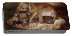 Pitbulls - The Softer Side Portable Battery Charger