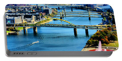 Pittsburgh At The Point Portable Battery Charger