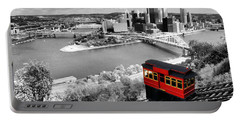 Pittsburgh From The Incline Portable Battery Charger