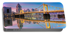 Pittsburgh North Shore Reflections  1 Portable Battery Charger