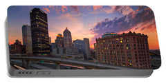 Portable Battery Charger featuring the photograph Pittsburgh Skyline  60 by Emmanuel Panagiotakis