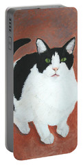 Pj And The Mouse Portable Battery Charger by Marna Edwards Flavell