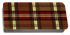 Plaid Portable Battery Charger