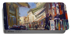 Plaka Athens Greece Portable Battery Charger